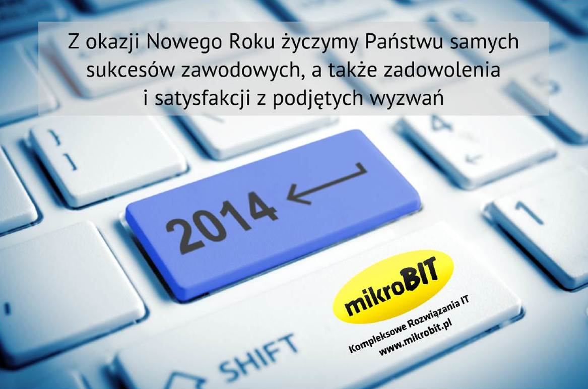 New Year 2014 in  MIKROBIT